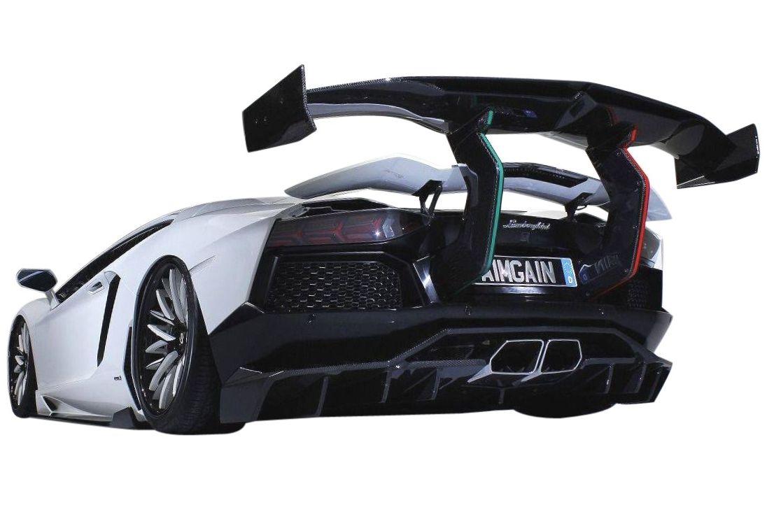 【M's】 ランボルギーニ アヴェンタドール ステルス GT ウイング / AIMGAIN GT / エイムゲイン エアロ // Lamborghini Aventador / リア R リヤ ウィング