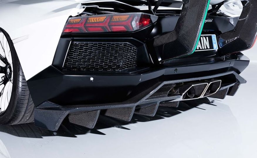 【M's】 ランボルギーニ アヴェンタドール リア ディフューザー / AIMGAIN GT / エイムゲイン エアロ // Lamborghini Aventador / リヤ R デフューザー