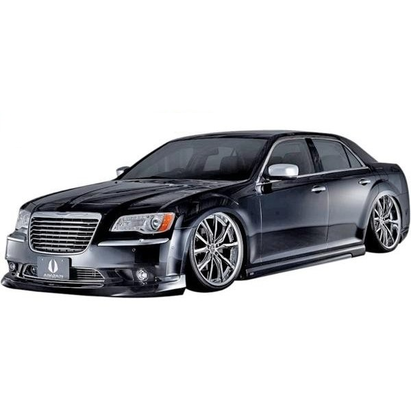【M's】クライスラー 300C BS/N(2011y-)AIMGAIN 純VIP EXE フルエアロ/フルキット 3点(FHS+S+RHS)//エイムゲイン フロントハーフスポイラー サイドステップ 左右 リアハーフスポイラー CHRYSLER エムズ FRP 未塗装 素地 完全受注生産 新品