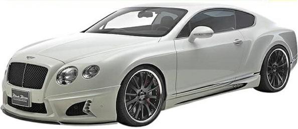【M's】ベントレー コンチネンタルGT(2011y-)WALD Black Bison エアロ 3点キット(F+S+R)//FRP製 ヴァルド バルド ブラックバイソン フルエアロ フルキット エアロキット BENTLEY CONTINENTAL GT