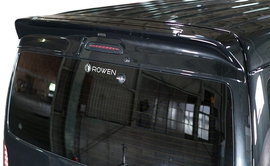 【M's】ハイエース 200 系 ワイド 1~4型 ルーフスポイラー(標準ルーフ車専用)/ ROWEN / ロエン PREMIUM Edition エアロ // トヨタ TOYOTA HIACE WIDE KDH TRH / 1T023R00