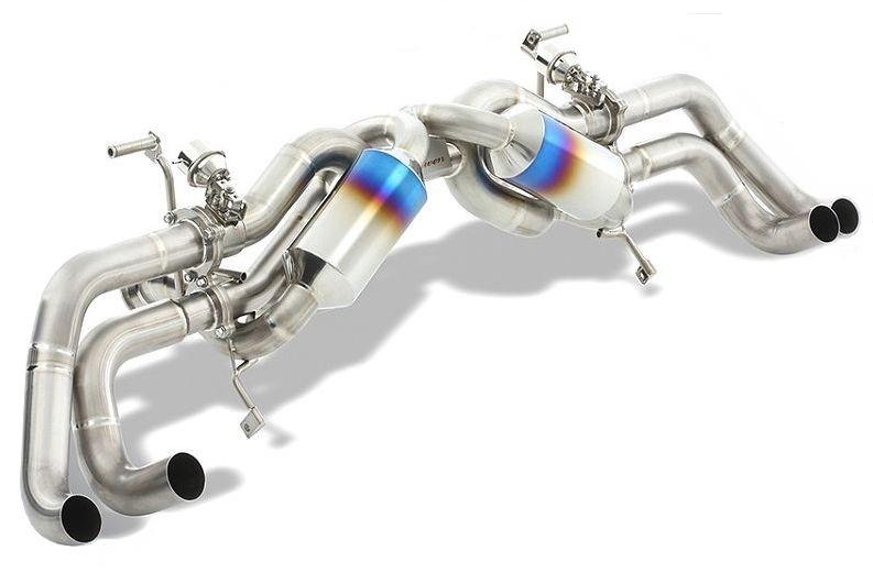 ランボルギーニ ウラカン LP610-4 可変バルブ付 チタン マフラー ROWEN ロエン 1G003Z00T / Lamborghini Huracan Titanium Exhaust System