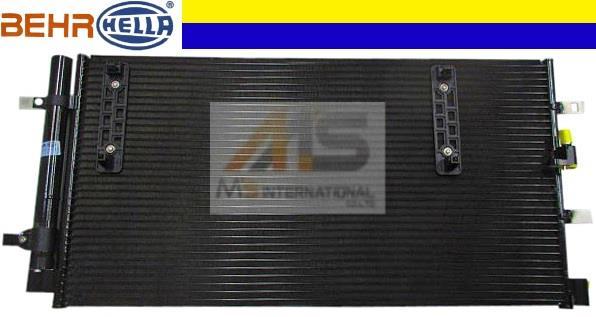 【M's】アウディ A4 S4(2008y-)BEHR製 エアコンコンデンサー//純正OEM ACコンデンサー AUDI アバント クワトロ 8K0-260-403AF 8K0260403AF