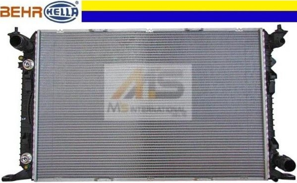【M's】アウディ Q5(2013y-)BEHR製 ラジエーター//純正OEM ラジエター AUDI 8K0-121-251AA 8K0121251AA 8MK376.745-651 8MK376745651