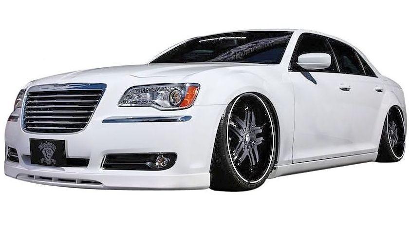 【M's】クライスラー 300C / 300 (2011年-) LB-customs フル エアロ 4点 ボディキット // フロント&リア ハーフ スポイラー / トランク&ルーフ スポイラー / LB パフォーマンス / CHRYSLER Body kit FRP リバティウォーク