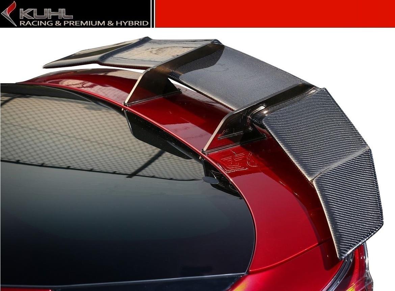 【M's】 トヨタ プリウス 50 系 スワンネック GT ウイング / KUHL RACING エアロ // リア ウィング スポイラー / クール レーシング / 新型 TOYOTA PRIUS ZVW 5#