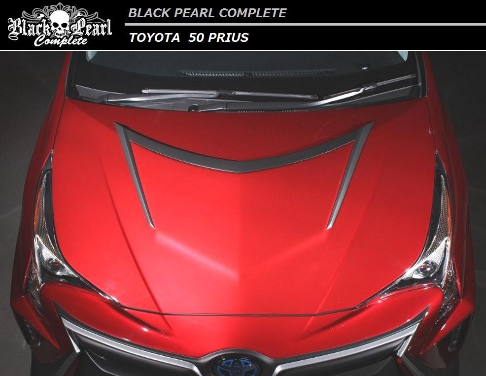 【M's】プリウス 50 ボンネット フード / BLACK PEARL COMPLETE/ブラック パール コンプリート // トヨタ TOYOTA / bonnet hood