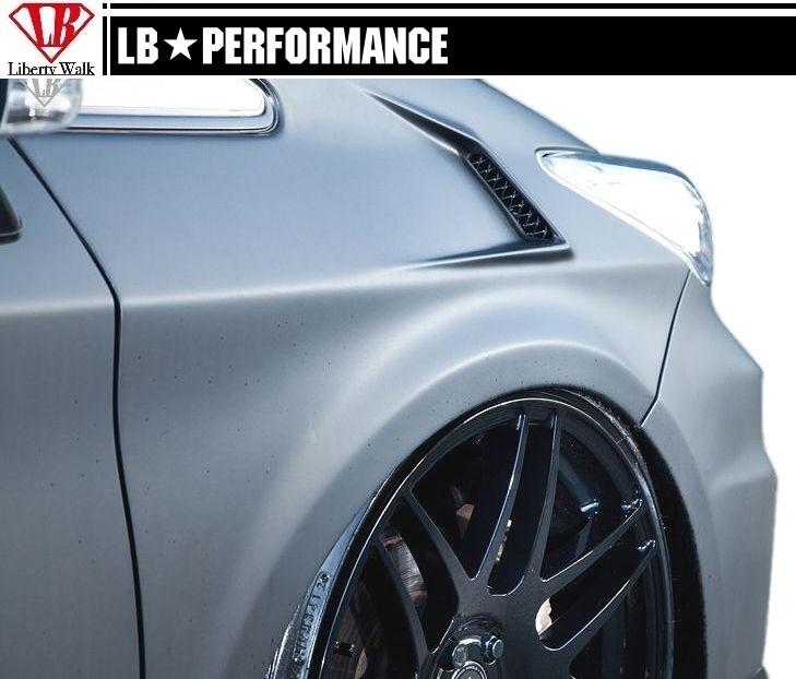 【M's】30 プリウス ダクト フェンダー / LB Earth/Liberty Walk エアロ // トヨタ TOYOTA PRIUS / LB works / LB performance