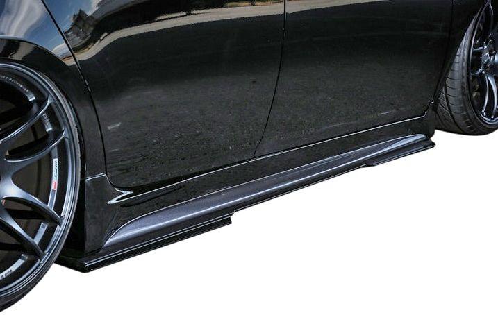 【M's】トヨタ プリウス 30 後期 (H23/12~) KUHL RACING 30R-SS II Ver.3 サイドディフューザー // クール レーシング カスタム S スカート スポイラー/TOYOTA PRIUS 新品