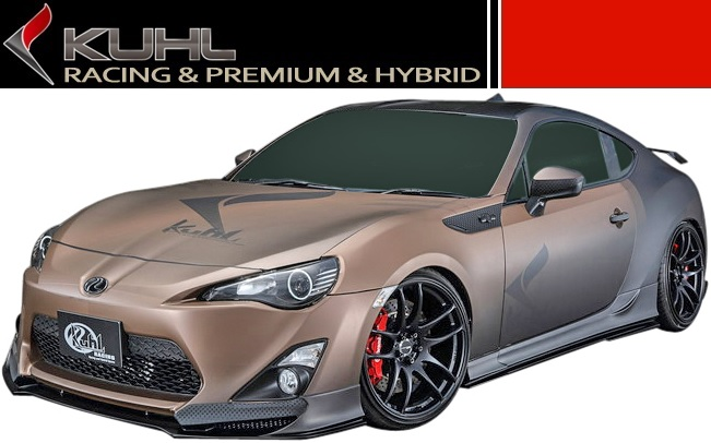 Toyota 86 ZN6 Ver.2 rear bumper regular type KUHL RACING / / cool racing-made Aero spoiler TOYOTA brand new