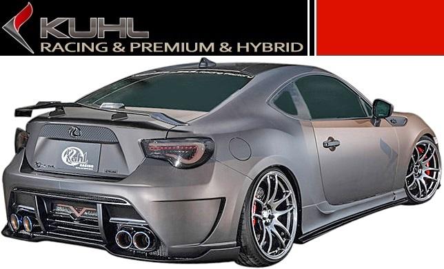 Toyota 86 ZN6 Ver.2 rear bumper regular type KUHL RACING / / cool racing-made Aero spoiler TOYOTA brand new