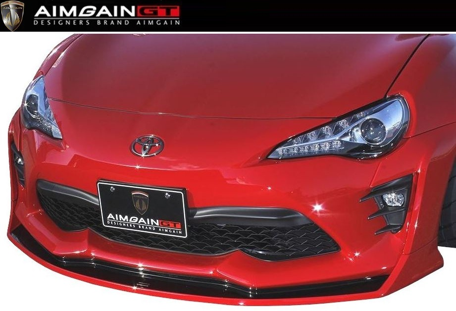 【M's】TOYOTA 86 後期(H28.8-)フロント アンダー スポイラー // AIMGAIN GT エイムゲイン エアロ / front under spoiler