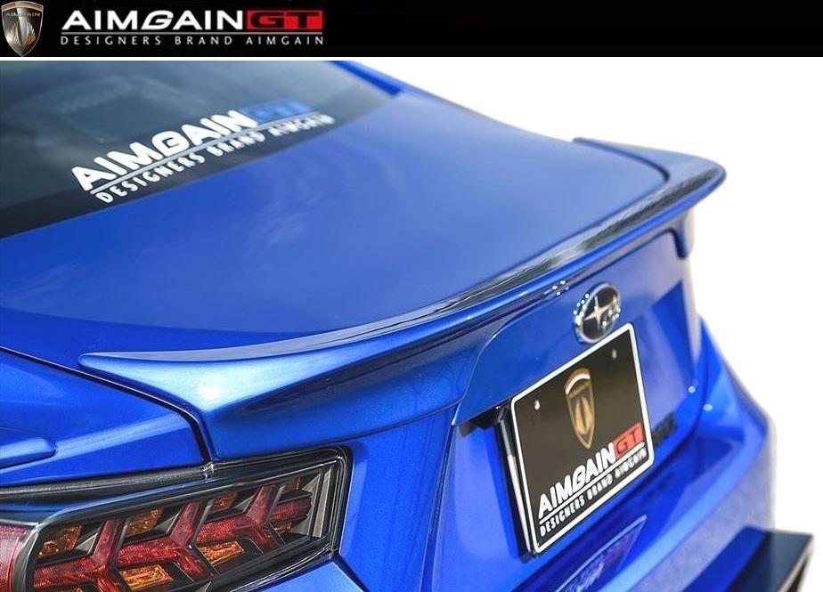 【M's】SUBARU リア スバル 前期(2012.3-2016.7)トランク SPOILER ウイング TRUNK AIMGAIN / スポイラー / BRZ ZC6 GT/エイムゲイン エアロ //