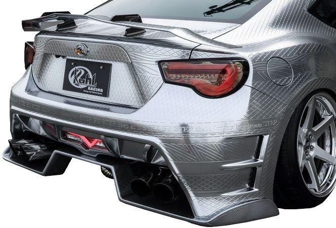 【M's】トヨタ 86 ZN6 前期 01R-GT スワンネックGTウイング ロングタイプ FRP製 KUHL RACING //クール レーシング 製 TOYOTA BRZ