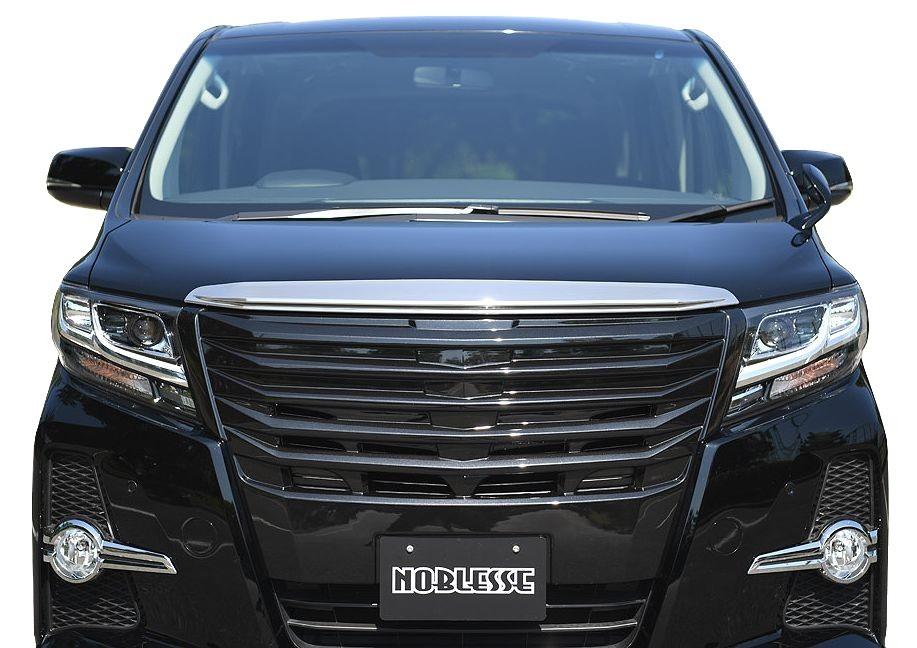 【M's】30 アルファード フロント グリル ABS製 ブラック 塗装済 // プリクラッシュセーフティシステム 対応 / トヨタ TOYOTA ALPHARD AGH GGH AYH 30W 35W 2.5 3.5 ハイブリッド