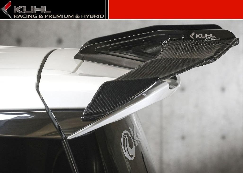 【M's】 ヴェルファイア 30 スワンネック GT ウイング FRP製(全グレード対応)/ KUHL RACING/クールレーシング エアロ // リア ルーフ スポイラー / トヨタ TOYOTA VELLFIRE AGH GGH AYH 30W 35W