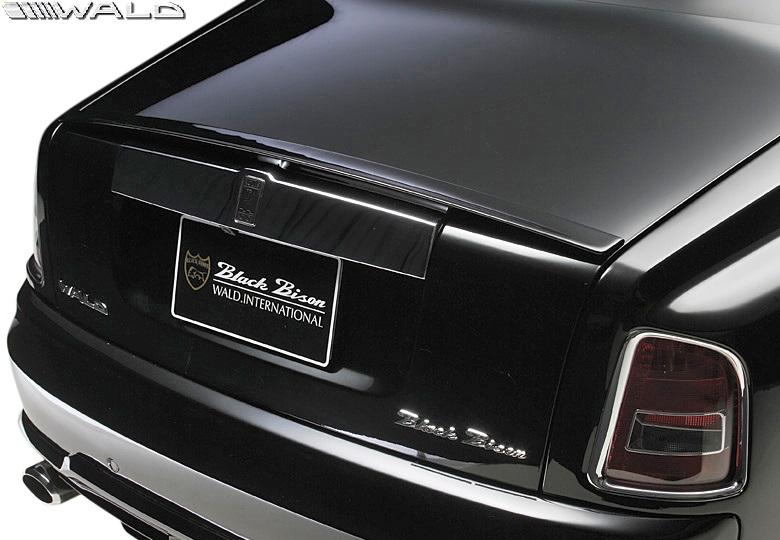 【M's】ロールスロイス ファントム (2003y-2008y) WALD Black Bison トランクスポイラー//FRP製 ヴァルド バルド エアロ カスタム シンプル ロールス Rolls Royce PHANTOM ブラックバイソン リアウイング リヤウイング ウイング