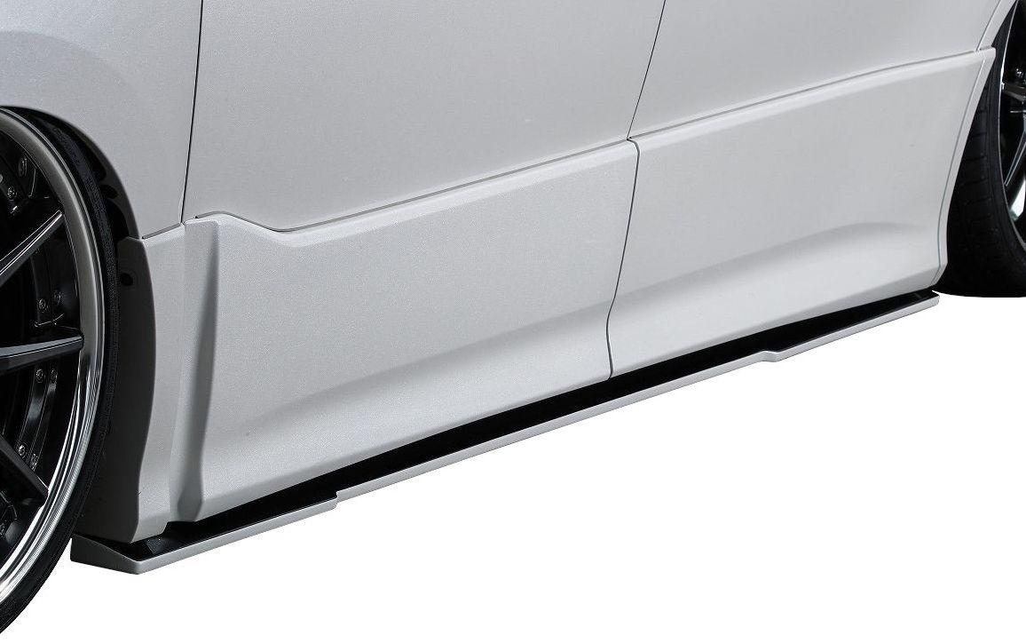 【M's】TOYOTA VOXY 80 後期(H29/7-)80V-SS サイドステップディフューザー 左右 KUHL RACING エアロ クール レーシング / トヨタ ヴォクシー S ステップ スポイラー