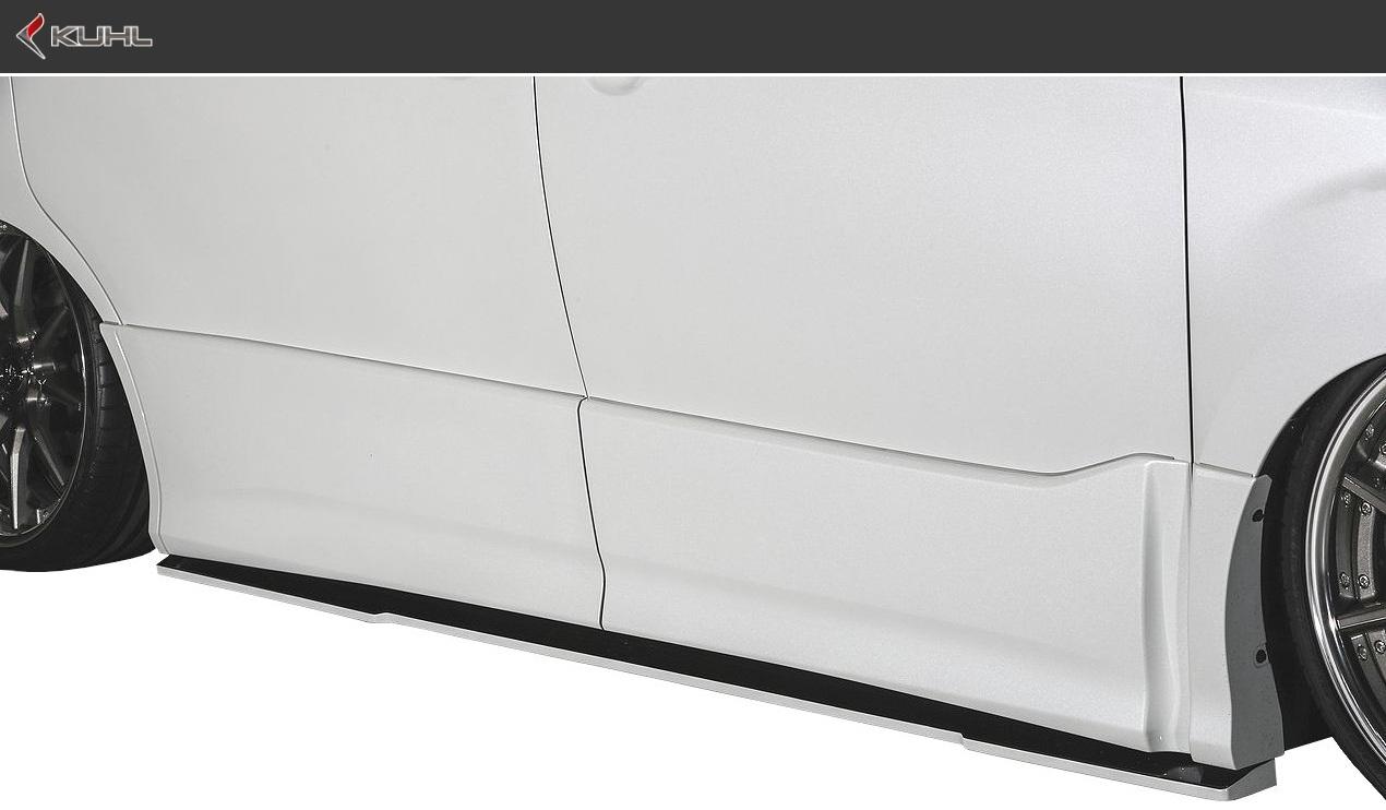トヨタ 80 ノア 後期 Si系(H29.7-)サイド ディフューザー KUHL RACING エアロ クール レーシング TOYOTA NOAH