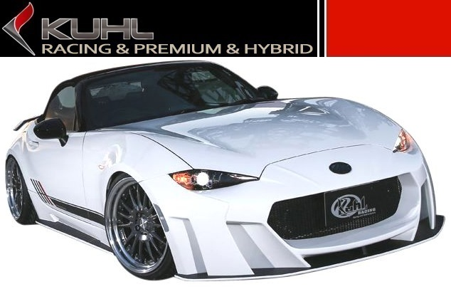 【M's】 マツダ ロードスター ND5 エアロ 5点 セット KUHL RACING // フロント & リア バンパー / F & R ディフューザー / サイドステップ / クール レーシング 新型 MAZDA ROADSTER ND
