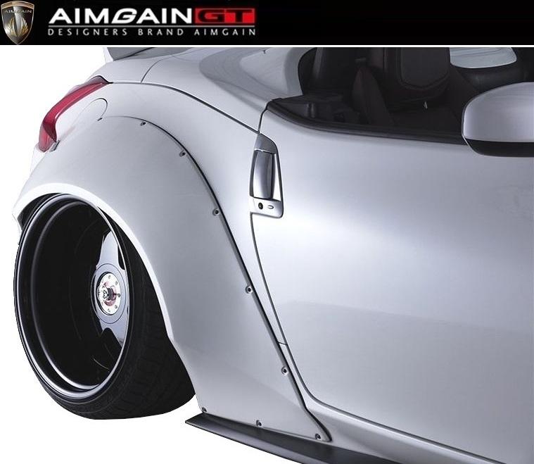 【M's】NISSAN Z34 リア オーバー フェンダー +80mm / AIMGAIN GT/エイムゲイン エアロ // 日産 フェアレディ Z FAIRLADY 370Z