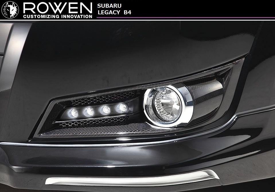WAGON / PREMIUM 【M's】レガシィ エアロ // 共通 / LED付 ROWEN/ロエン スバル BR9 Edition フォグ カバー SUBARU LAGACY B4・ツーリングワゴン BM9 A-C型 TOURING 1S001I03 1S001I02
