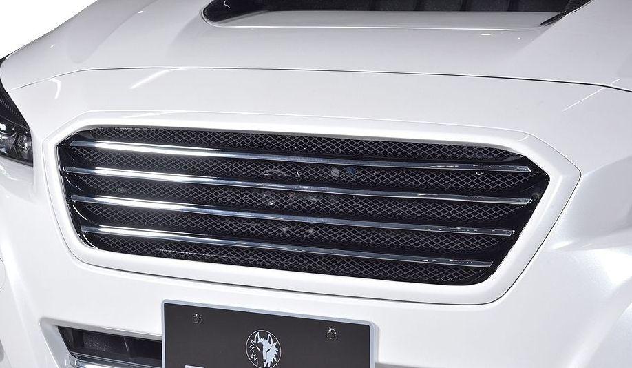 【M's】スバル レヴォーグ 後期(H29.8-)フロント グリル ROWEN ロエン エアロ 1S009C00 SUBARU LEVORG VM4 VMG front grille garnish