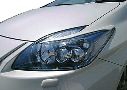 【M's】30 プリウス 前期 アイライン ガーニッシュ / ROWEN/ロエン エアロ // トヨタ 1T001H00 ECO-SPO Edition RR-GT ※LEDヘッドライト専用