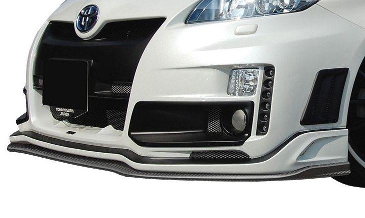 【M's】トヨタ プリウス 30 前期(H21.5-H23.11)フロント バンパー LED 付 / ROWEN / ロエン エアロ RR-GT // TOYOTA PRIUS 1T001A20