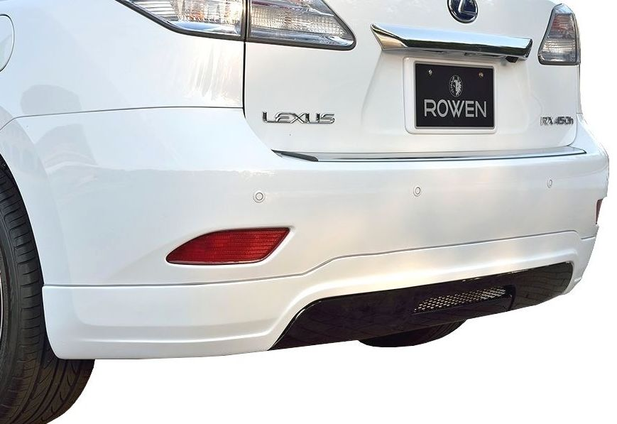 【M's】LEXUS RX 10 系 ROWEN エアロ専用 リア ディフューザー カバー // レクサス ロエン 1L004P10 / 270/350/450h/前期・後期 共通