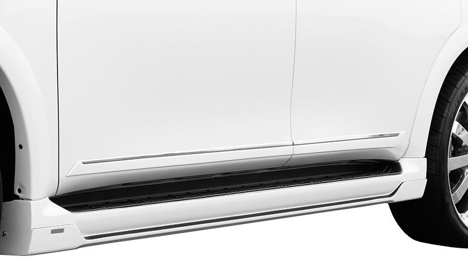 【M's】INFINITI QX56 サイド ステップ ABS製 / ROWEN/ロエン エアロ 1R001J00 // インフィニティ OX56 QX80(-2014) VK56VD