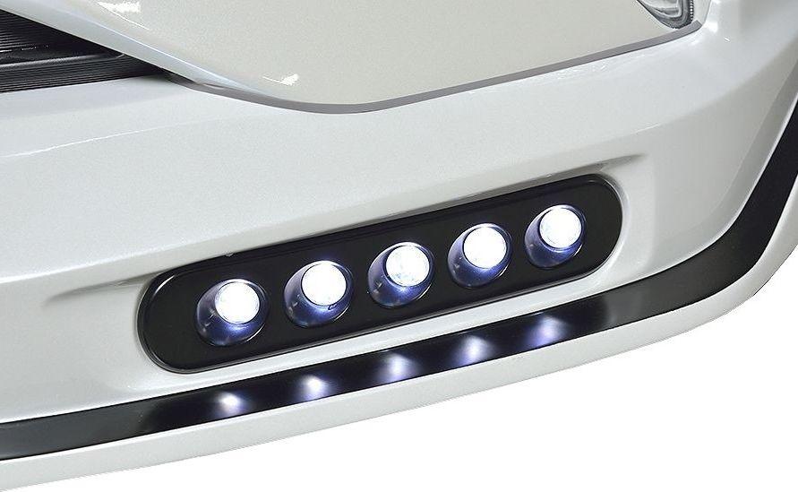 【M's】プリウス 50 系 スポット LED アタッチメントセット / ROWEN フロントスポイラー用 / ロエン エアロ // ECO-SPO Edition / TOYOTA PRIUS ZVW 5# 6I0004 トヨタ