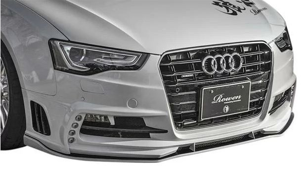 【M's】AUDI A5(8T)8TCDN (2012.01-) SPORTBACK ROWEN FRP製 フロントバンパーwith LED SPOTLAMP 1A008A20 ロエン ロウェン