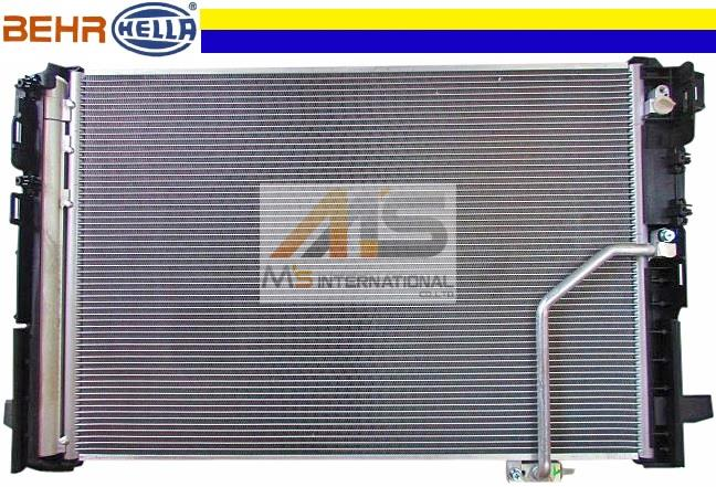 W218 Mercedes-Benz CLS class made by BEHR A/C air conditioning condenser /  genuine OEM C218 CLS218 CLS250 CLS300 CLS350 204 - 500 - 0654 2045000654