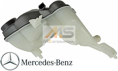 【M's】W221 Sクラス/W216 CLクラス 純正品 ラジエーターサブタンク//ラジエターサブタンク ベンツ AMG S350 S500 S550 S600 S63 S65 C216 CL500 CL550 CL600 CL63 CL65 221-500-0349 2215000349