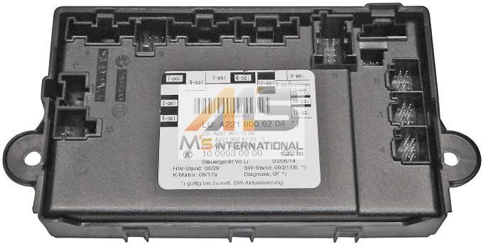 【M's】W221 ベンツ AMG Sクラス(2005y‐2013y)純正品 ドアコントロールユニット(左前)//純正 S350 S500 S550 S600 S63 S65 221-900-6204 2219006204