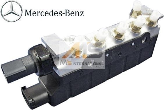 【M's】W220 ベンツ Sクラス(1998y-2005y)純正品 エアサス バルブブロック//S320 S350 S430 S500 220-320-0258 2203200258