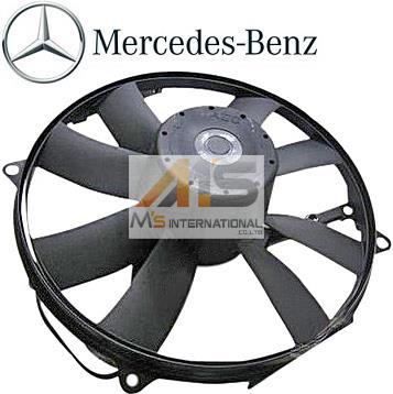 【M's】W463 ベンツ AMG Gクラス(ゲレンデ)純正品 ラジエーター 電動ファン//正規品 ブロアファン アディショナルファン G320 G500 G55 001-500-1593 0015001593