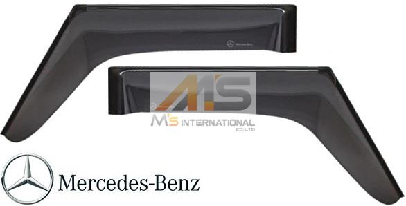 【M's】W463 ベンツ AMG Gクラス(ゲレンデ)純正品 フロント ドアバイザー 左右(ロング・ショート共通)//正規品 サイドバイザー ゲレンデ G320 G350 G500 G550 G36 G55 G63 G65 M4637201030MM
