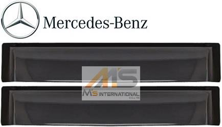 【M's】W463 ベンツ AMG Gクラス(ロング用)純正品 リア ドアバイザー 左右//正規品 サイドバイザー ゲレンデ G320 G350 G500 G550 G36 G55 G63 G65 M4637301030MM