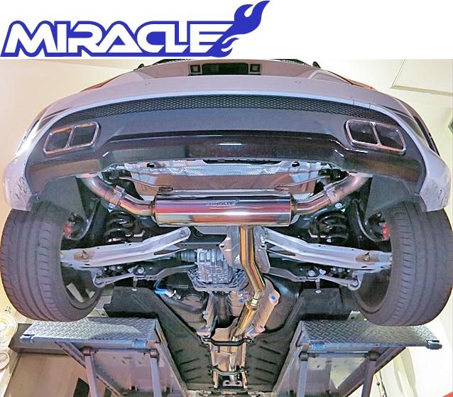 【M's】W176 AMG Aクラス A45(直4)MIRACLE製 可変リアマフラー//ステンレス ミラクル A176 3600 リモコン付 可変マフラー 新品