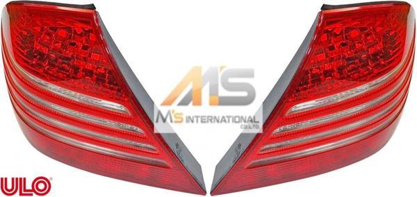 【M's】W215 ベンツ AMG CLクラス(クーペ)ULO 後期/03y- テールレンズ 左右//純正OEM C215 CL215 CL500 CL600 CL55 CL65