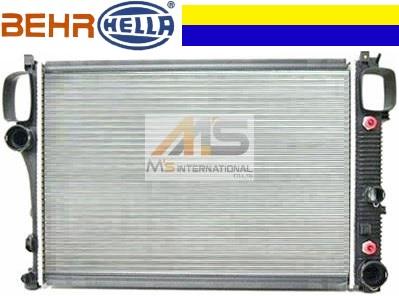 【M's】W209 AMG CLK55 CLK63(V8)BEHR製 ラジエーター//純正OEM ラジエター C209 CLKクラス 211-500-3202 2115003202