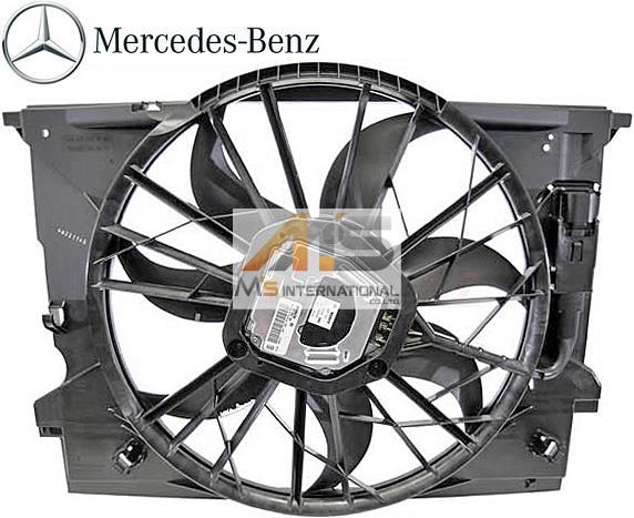 【M's】W211 ベンツ AMG Eクラス(2002y-2009y)純正品 ラジエーター 電動ファン//正規品 ラジエター ブロアファン アディショナルファン S211 E320 E350 E500 E550 E55 211-500-1693 2115001693