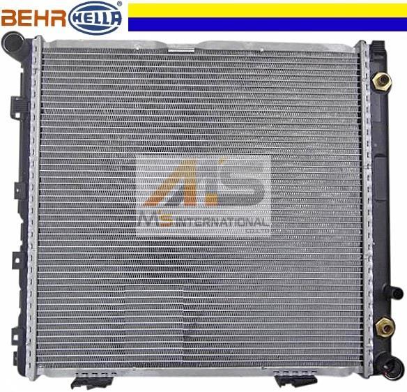 【M's】W124 ベンツ 220E 220TE E220 直4(M111)BEHR製 ラジエーター//純正OEM S124 ベンツ ラジエター セダン ワゴン 124-500-6303 1245006303