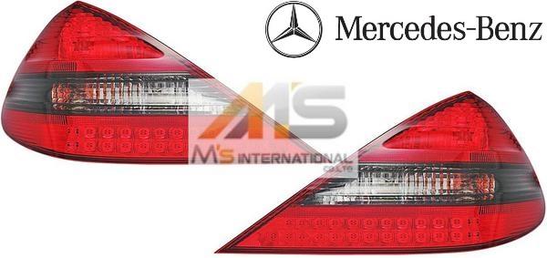 【M's】R230 ベンツ AMG SLクラス(01y-11y)純正品 SL65 後期 LEDテールレンズ(レッド/スモーク)//純正品 LEDテールランプ C230 SL350 SL500 SL550 SL600 SL55 SL63 SL65 B6-602-0952 B66020952 SL65テール