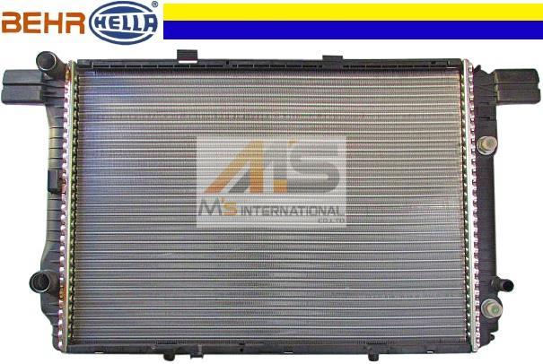 R129 Mercedes-Benz SL class SL320 (6 CYL) steel BEHR_HELLA radiator / genuine OEM Coupe C129 SL129 129 - 500 - 1303 1295001303 brand new