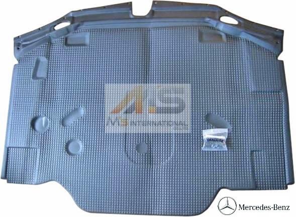 【M's】R129 ベンツ AMG SLクラス(89y-01y)純正品 ボンネットインシュレーター//C129 300SL 500SL 600SL SL320 SL500 SL600 SL55 SL73 129-680-2025 1296802025 フードインシュレーター