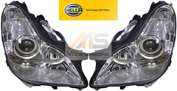 【M's】W219 ベンツ AMG CLSクラス(2005y-2011y)HELLA製 バイキセノン ヘッドライト 左右//純正OEM C219 CL219 CLS350 CLS500 CLS550 CLS55 CLS63 219-820-3161 219-820-3261 2198203161 2198203261 左側通行用 日本仕様 車検対応 新品