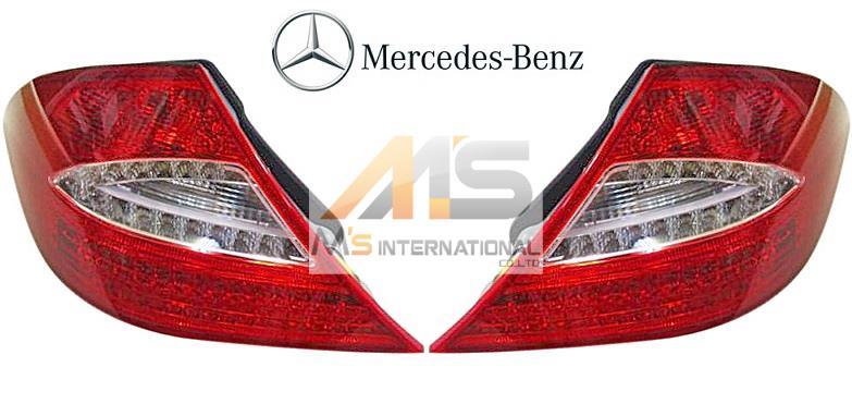 【M's】W219 ベンツ AMG CLSクラス 前期(2005y-2008y)純正品 後期(09y-)LEDテール 左右//C219 CLS219 CLS350 CLS500 CLS550 CLS55 CLS63 テールライト テールレンズ テールランプ 2848 取付加工済